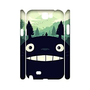 ANCASE Custom Color Printing Totoro Phone 3D Case For Samsung Galaxy Note 2 N7100 [Pattern-5]