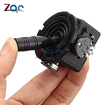 Electric Joystick Potentiometer JH-D202X-R2//R4 10K 2D Monitor Keyboard Ball Controller for Photographic Film Accessories Tool