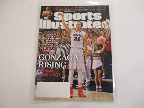 MARCH 2, 2015 SPORTS ILLUATRATED FEATURING KYLE WILTJER *GONZAGA RISING (THANKS, KENTUCKY)* *FORMER WILDCAT WILTJER JUST MAY ZAG HIS WAY TO ANOTHER FINAL FOUR AFTER ALL -BY PHIL TAYLOR*