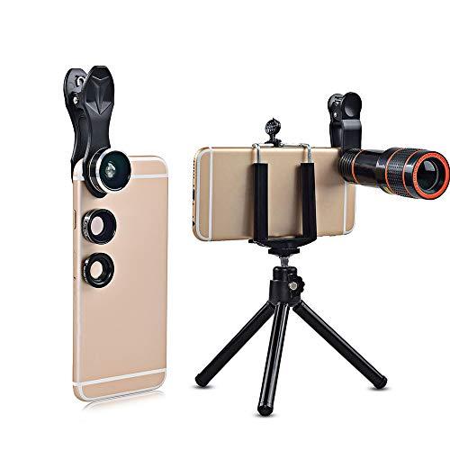 SZYT 12 times mobile phone telephoto HD external camera lens set bracket by SZYT
