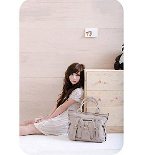 Fashion Korean Women Satchel Shoulder Handbag Messenger Crossbody Tote Bag Hobo Khaki