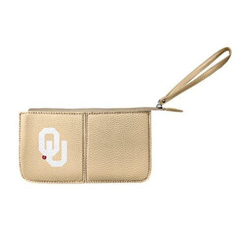 NCAA Oklahoma Sooners  Pebble Wristlet - Sooners Oklahoma Pebble