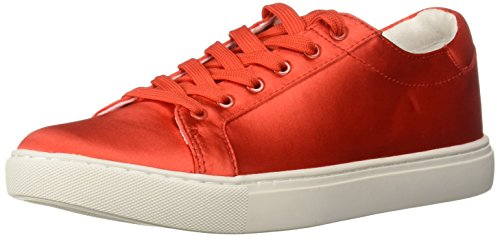 Kenneth Cole New York WoMen Kam Techni-Cole Satin Lace-up Sneaker Persimmon