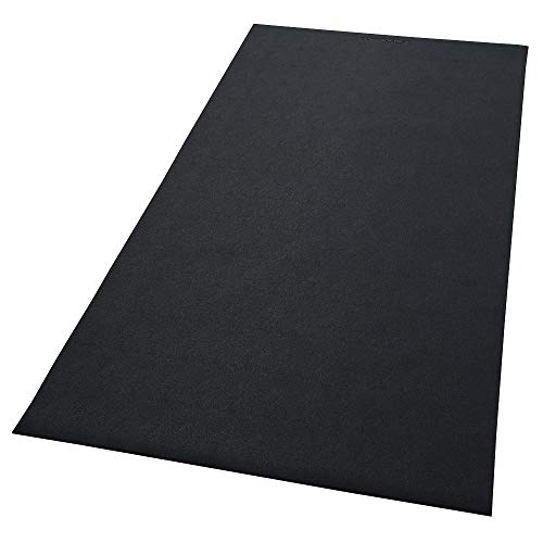 Confidence Fitness Rubber Impact Mat for Treadmills and Other Gym Equipment