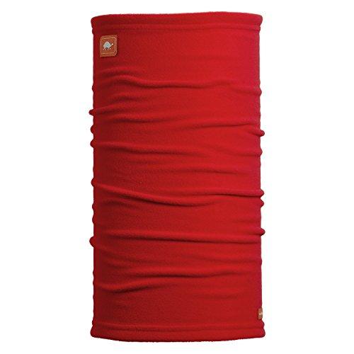 Turtle Fur Turtle Tube Single-Layer Micro Fur Performance Fleece Neck Warmer Red Hot (Layer Fleece Single)