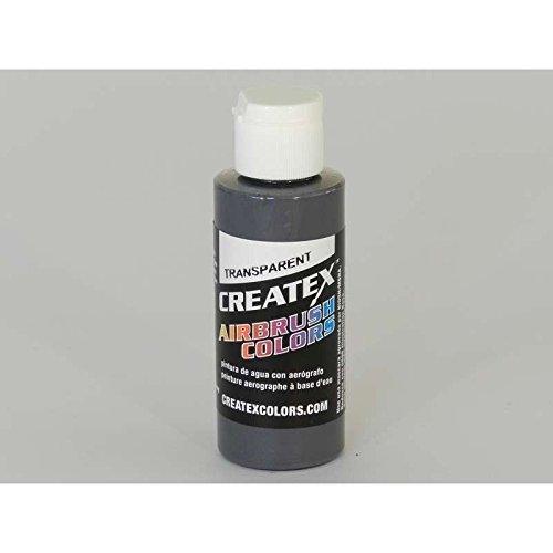 Createx Airbrush Paint, Transparent Medium Gray, 2 oz - Transparent Gray