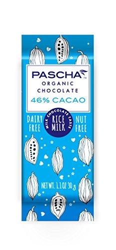 (Pascha Organic Vegan Rice Milk Chocolate Bar, 46% Cacao, 1.1 Ounce (Pack of 15))