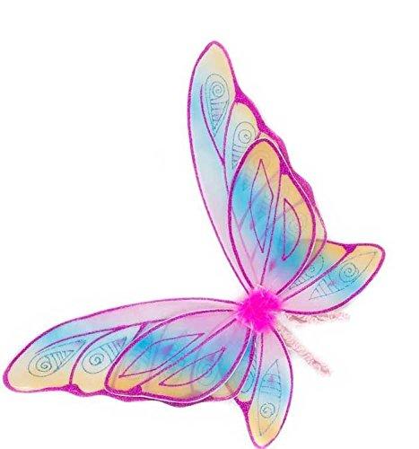 Great Pretenders Rainbow Wings in Fuchsia Glitter ()