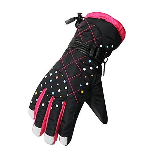 - YF-36 Womens Winter Warm Sports Windproof Waterproof Ski Gloves