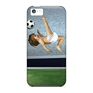 JosareTreegen IUY28103SMCX Cases For Iphone 5c With Nice Football Baby Appearance