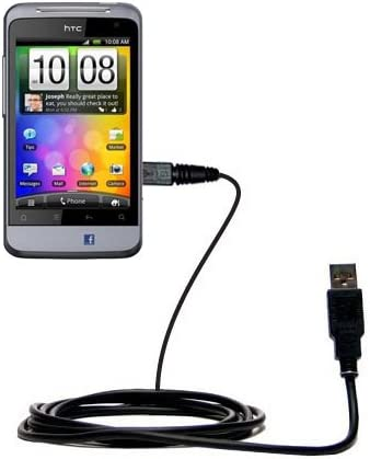 Uses Gomadic TipExchange Technology Classic Straight USB Cable for the Tursion TS-510 C93 with Power Hot Sync and Charge Capabilities