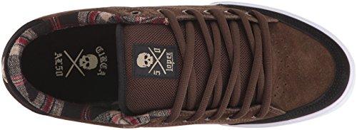 C1RCA Men's AL50 Skateboarding Shoe, Slate/Black/Gum, 10.5 M US