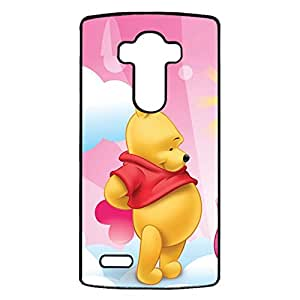 LG G4 Protective Cover Case with Creative Pooh Bear Cartoon Pattern,Pooh Bear Anime Element Logo Protect Skin