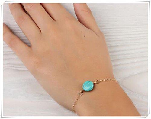 Or Turquoise Bracelet
