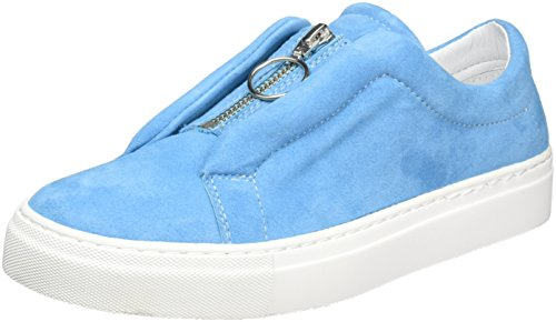 Ginnastica Scarpe Light suede Basse Blu Donna Biz Shoe Zip Da Blue Cupsole qRnXxZ