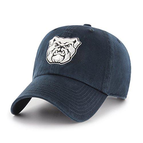 Bulldog Twill Hat - NCAA Butler Bulldogs OTS Challenger Adjustable Hat, Navy, One Size