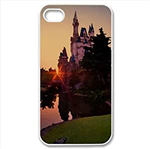 Tokyo Disneyland of the Rising Sun Watercolor style Cover iPhone 4 and 4S Case (Japan Watercolor style Cover iPhone 4 and 4S Case)