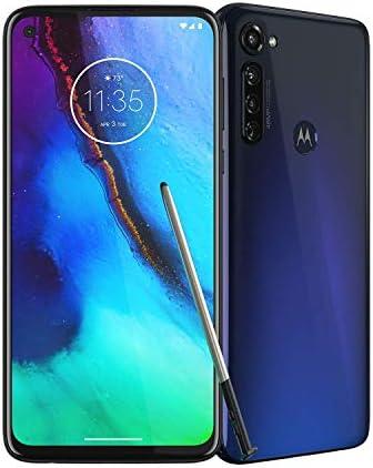 Moto G Stylus | Unlocked | Made for US by Motorola | 4/128GB | 48MP Camera | 2020 | Indigo WeeklyReviewer