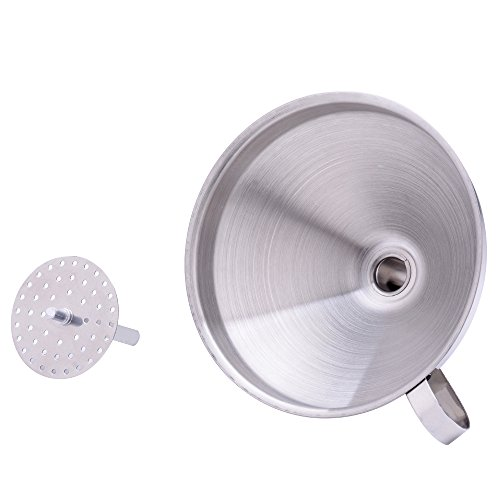 Stainless Steel Kitchen Funnel with Removable