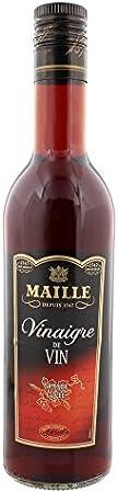 Malla vinagre de vino rojo grande (50 cl), lote de 3