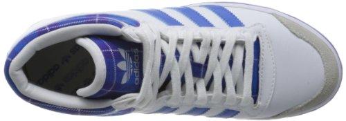 adidas Top Ten Vulc Valentine - Zapatilla alta de cuero mujer blanco - Weiß (Running White Ftw/Bluebird/Blast Purple F13)