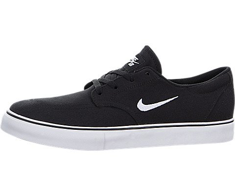 Nike Kids SB Clutch (GS) Black/White Skate Shoe 5.5 Kids US (Nike Sb Youth Shoes)
