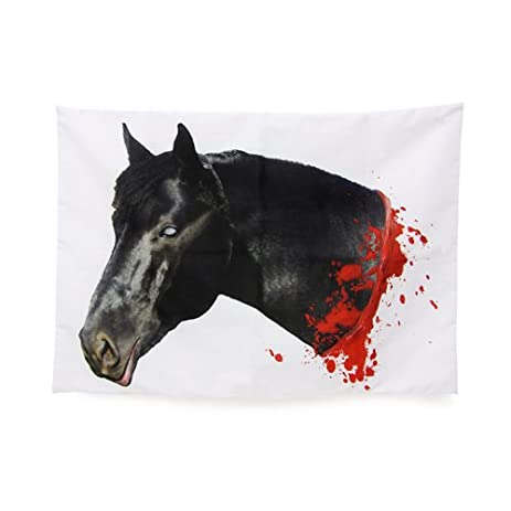 Thumbs up Horse Head Pillow Case 12 x 16 Inches