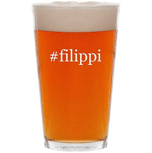 Price comparison product image #filippi - 16oz Hashtag Pint Beer Glass