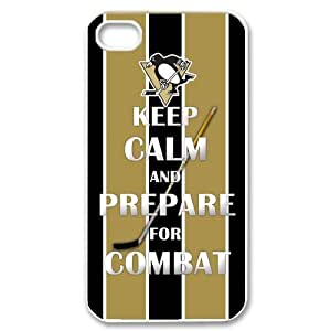 Custom Pittsburgh Penguins Case for iPhone 4 4s