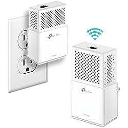 TP-Link 1000 Mbps Powerline WiFi extender adapter 2-Kit, 1 Gigabit Port (TL-WPA7510 KIT)