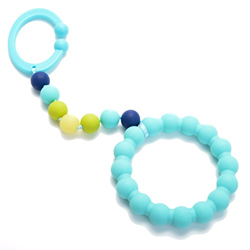 Chewbeads Gramercy Stroller Toy Turquoise product image
