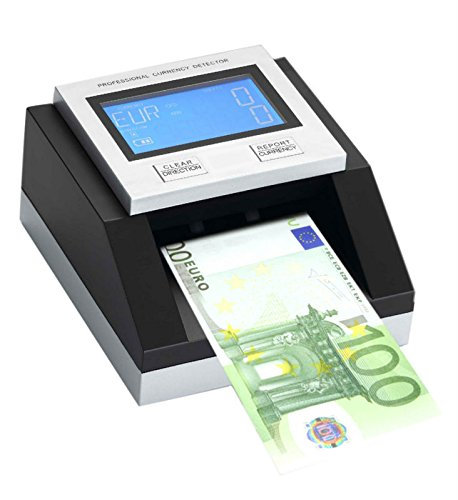 Factory Wholesale ECB tested EC350 Professional Multi counterfeit money detector for USD+Euro+GBP portable currency detector by Currency Detector