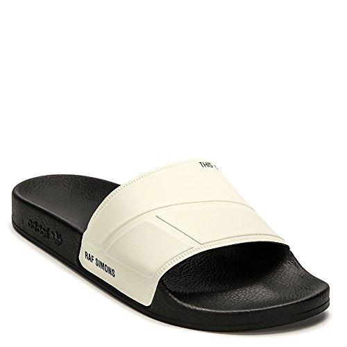 Adidas X Raf Simons Men's Bunny Adilette Slide Slipper BY9814 Cream UK 6 / US 6.5 D(M)
