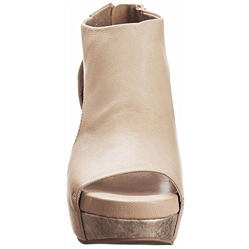 Sandals Leather Black View Antelope 942 Open Women q6wxPPO0