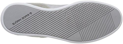 Björn Borg Hyde Rto M, Sneaker Uomo Mehrfarbig (Light Grey-navy)
