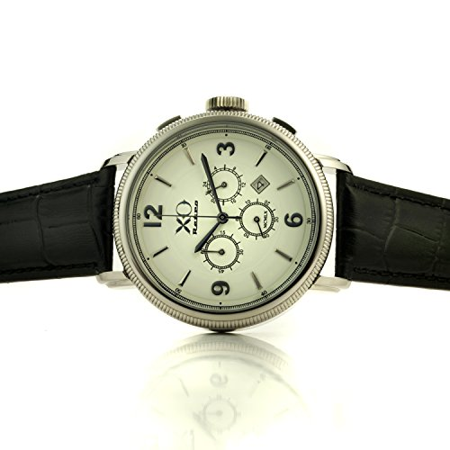 Mens Ferrari 250GT Year 1960 Automobile DNA Collection White Dial Black Strap - White Collection Ferrari