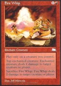 - Magic: the Gathering - Fire Whip - Weatherlight