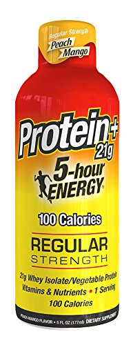 Hour Energy Protein Peach Mango