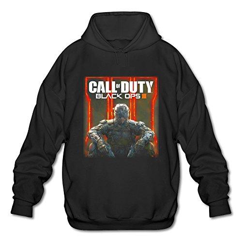 Man Call Of Duty Black Ops 3 Character Logo Hoodies Sweatshirt Black