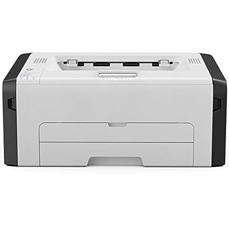 Ricoh SP 220NW - Impresora láser (A4, WLAN, monocromática) Color Blanco