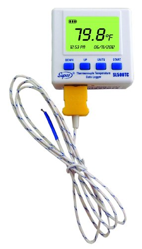 Orico Supco SL500TC Thermocouple Temperature Data Logger ...