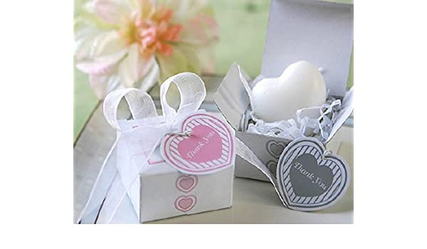 Amazon 12pcs Artistic Scented Soap Heart Shape For Wedding