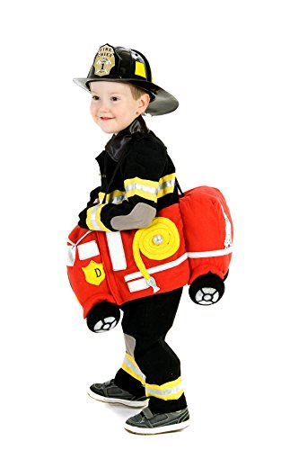 Princess Paradise Plush Ride-in Firetruck Costume, One Size