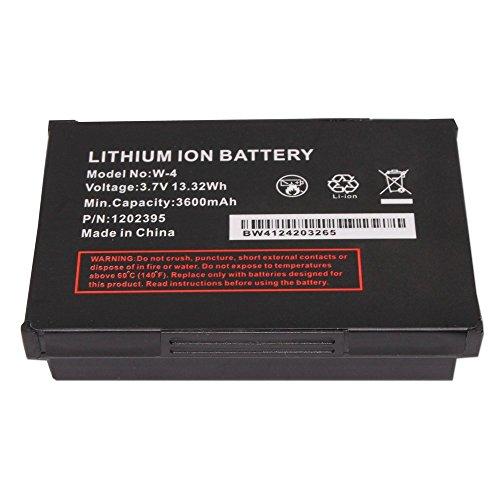 High Performance Replacement Battery W-4 W4 (1202395) 3600mAh for Sierra Wireless 803S, Netgear Aircard 803s, TRI-FI 4G LTE Non-Retail Packaging (Aircard Wireless Sierra)