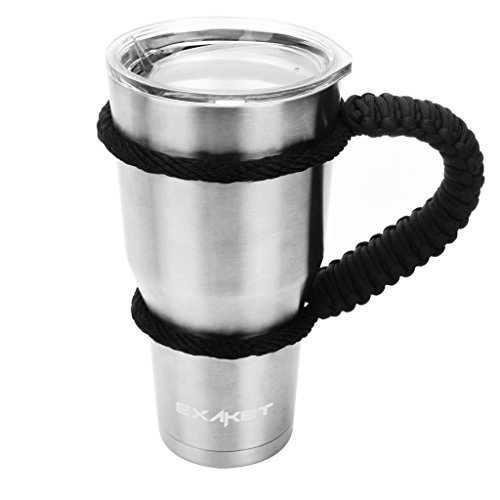 EXAKET Travel Tumbler  - Double Wall Vacuum Insulated Stainl