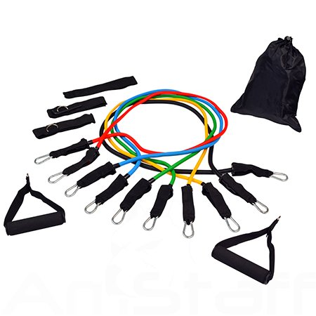 Resistance Bands Exercise Tubes for P90X-11 PCS Set for sale  Delivered anywhere in Canada