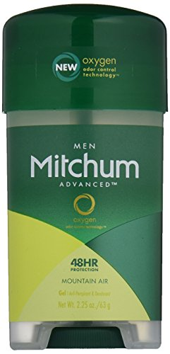 Mitchum Clear Gel Antiperspirant and Deodorant Mountain Air Scent 2.25 oz. (Gel Air)