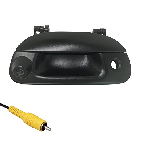 Master Tailgaters Ford 1997-2007 F150 F250 F350 F450 F550 BLACK Tailgate Backup Reverse Handle with Camera