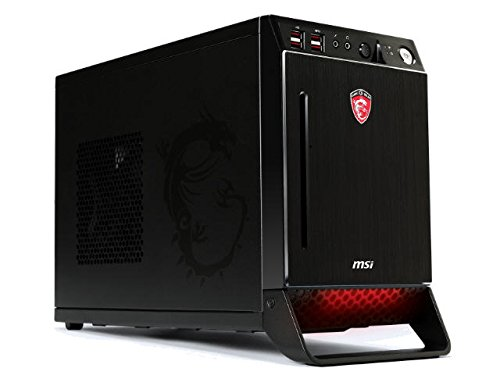 MSI Mini-ITX Gaming Desktop Barebone with 1 PCI-E x16 and Slim Slot-load DVD SuperMulti Nightblade Z97-016BUS Black