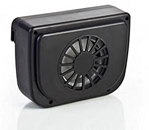 Auto Cool Solar Fan Black Smart Color